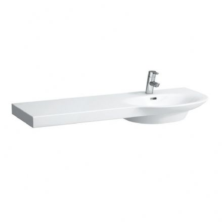 816705 - Laufen Palace 1200mm x 460mm Washbasin (Left Shelf) - 8.1670.5